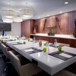 Our Riverpark boardroom offers the perfect atmosphere and added amenities to stay productive in