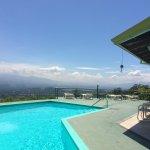 Pool with gorgous views