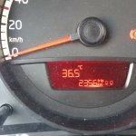 Unsere Tagestemperaturen im August. Aber hier erträglich mit Meeresbrise