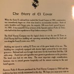 History page from the menu.