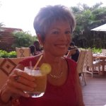 Maryanne with Passion fruit margarita