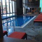 Spa/piscine intérieure