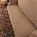 Every sofa had stains like this.