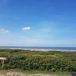 Blick über die Dünen zur Nordsee