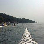 Kayaking at San Juan Island