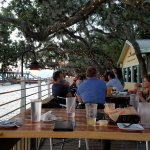 Great dining by the water & a perfect Friday evening.