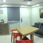 Very happy staying here as the place is spacious, clean, comfy and accommodating staffs.