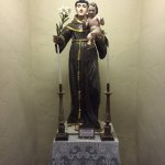 St. Anthony with the infant Jesus