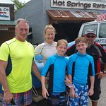 Best whitewater rafting guide!