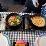 Breakfast Buffet - Fresh omlettes made to order