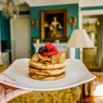 Enjoy pancakes straight from the kitchen delivered to your room with The Chanler's room service.