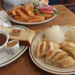 Clancy's Chicken, Puff Pastry Bangers & Mash,  Outstanding Soda Bread!