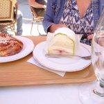 Perfect food, danish and princess cake