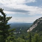 Easy walk from parking lot at top of road to overlook. Spectacular views!!!