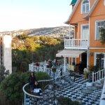 terraza y cerros