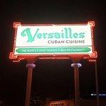 Versailles signage