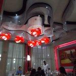 The Italian restaurant