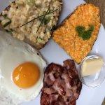 The Farmers breakfast - lovely local brekky
