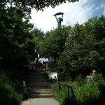 Hiking up Gellert Hill