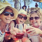 Getting rosy in the sun with Rose - girls day out!