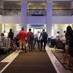Lobby always feel of people, very good atmosphere