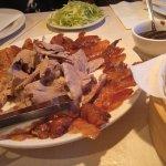 Peking Duck ready to be enjoyed!