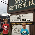 My sons always enjoy their time in Gettysburg!
