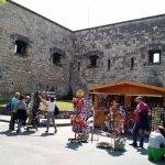 Street bazaar by the citadel