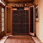 Lobby wine locker