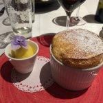 Dessert : Souflé au Grand Marnier (Menu à 45€)