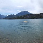 Accès au Lac du camping