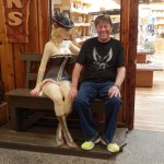Meeting the Locals Wall Drug