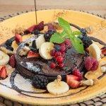 Vegan Chocolate pancakes