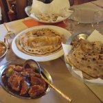 Aaloo prathas & Lacha prathas