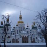 St Sophia Cathedral in Winter
