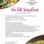 Summer promotion 2017 - Hue folk song cruise