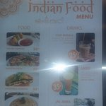 Indian food is available here.