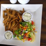 And  main course of Whitebait