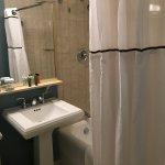 Tiny, old bathroom