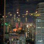 View from Thai Restaurant 38th Floor