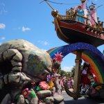Peter Pan at DIsney Parade
