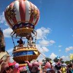 Mickey Mouse at Disney Parade