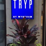 TRYP Wyndham Sign - NYC