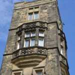 A shot of one of the Towers at Cliffe Castle.