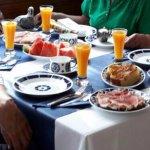 Desayunos espectaculares en vajilla de Sargadelos