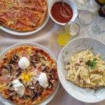 pizza og pasta