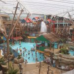 Interior of Water Park