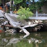 B52 wreckage at Huu Tiep lake