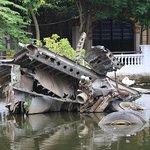 B52 wreckage