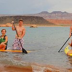 We deliver to Sand Hollow State Park - Vests (PFD) are included; be sure to wear them!